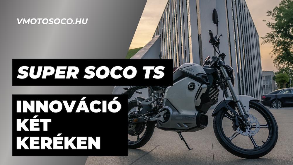 Super SOCO TS - YouTube cover